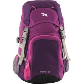 Easy Camp Patrol Backpack 20l Kids, roze/violet